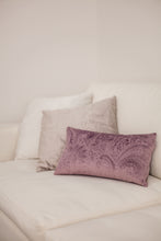 Load image into Gallery viewer, Plum Oblong Cushion