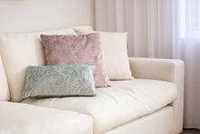 Load image into Gallery viewer, Misty Teal Oblong Cushion