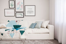 Load image into Gallery viewer, Teal Velvet Oblong Cushion