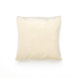 Ecru Velvet Cushion