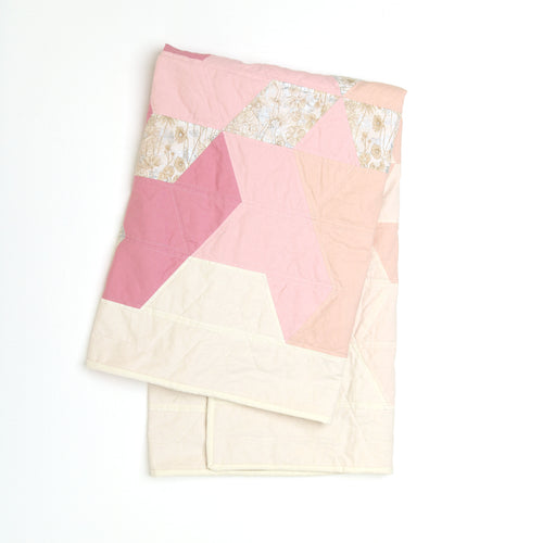 Trailing Triangles Patchwork Quilt