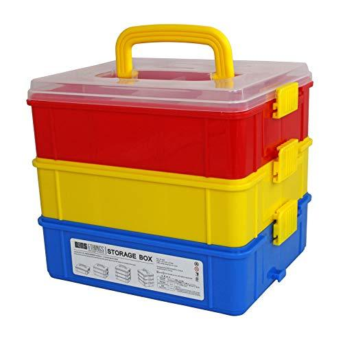 3-Tier XL Stackable Organizer Storage Case