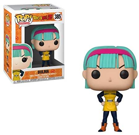 Funko Pop Animation: Dragonball Z - Bulma (Yellow Outfit) Collectible Figure, Multicolor