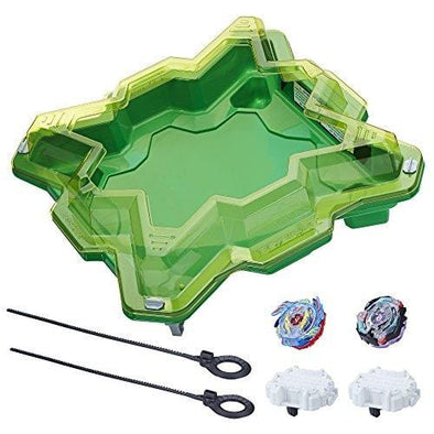 Beyblade Burst Evolution Star Storm Battle Starter Set with Burst Stadium, Battling Tops, & Launchers