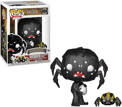 Funko 34688 Pop & Buddy Games: Don't StarveWebber with Spider Collectible Figure, , Multicolor