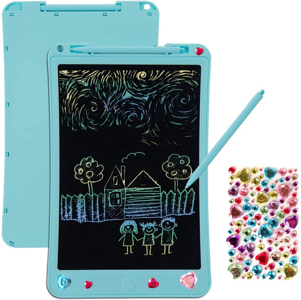 LCD Writing Tablet Kids Gifts - 8.5 Inch Electronic Drawing Board Colorful Doodle Pad for Handwriting Graffiti Scribble at Home School Preschool Learning Educational Toys for Boy Girl Age 3+