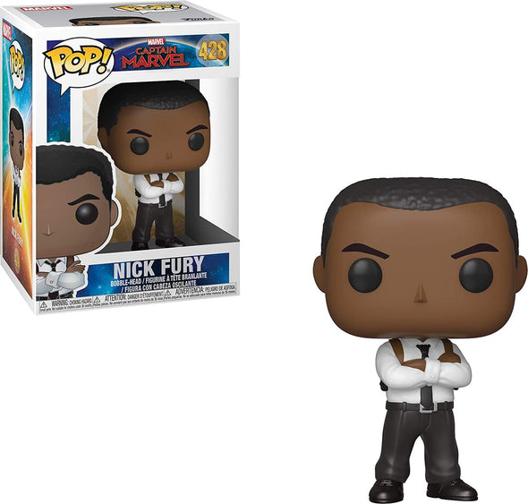 Funko Pop! Marvel: Captain Marvel - Nick Fury