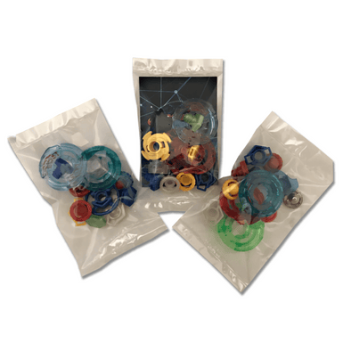 36 Piece Beyblade Part Customizing Set