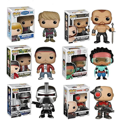 Funko POP Exclusive Mystery Set of 6 No Duplicates