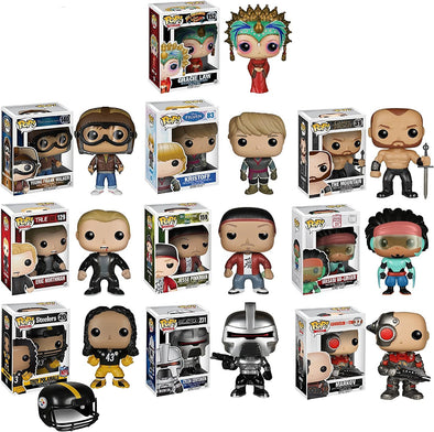 "Funko POP Exclusive Mystery Starter Pack Set of 10 ""Includes 10 Random Funko POPS Will Vary and No Duplicates"