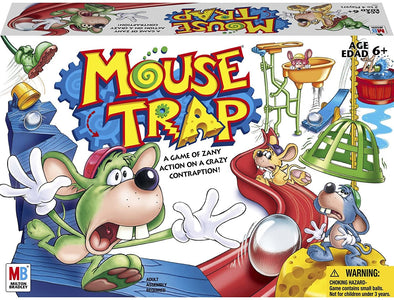 Hasbro Gaming Mouse Trap Board Game For Kids Ages 6 and Up