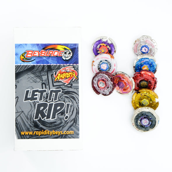 Premium Beyblade Random 4 Pack Party Collector Set