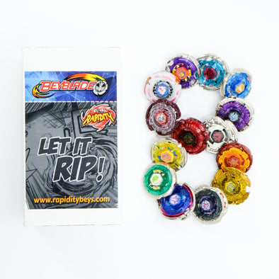 Premium Beyblade Random 8 Pack Party Collector Set