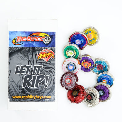 Premium Beyblade Random 6 Pack Party Collector Set