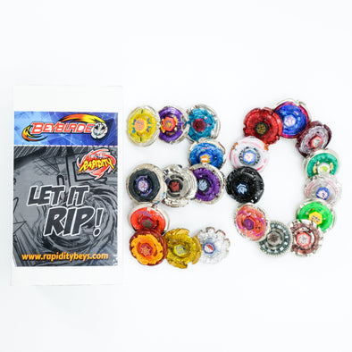 Premium Beyblade Random 20 Pack Party Collector Set
