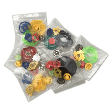 36 Piece Beyblade Parts
