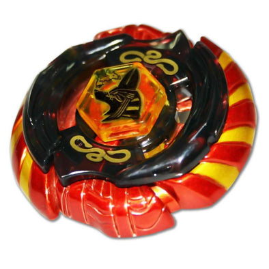 Mercury Anubius Red 85XF B-166 Beyblade Top