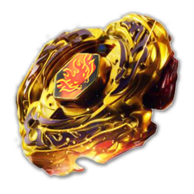 L-Drago Destroy Destructor DF105LRF Gold Armored Ver. Beyblade Top