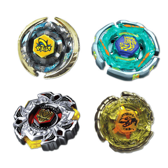 Beyblade Combo Thermal Pisces - Ray Unicorno Striker - Nightmare Rex -Variares 4 Pack