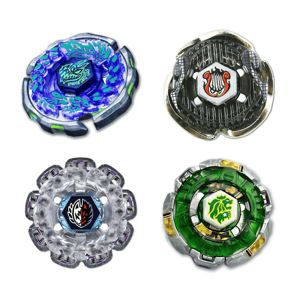 Beyblade Combo Spiral Lyre (Screw Lyra) - Ray Gil - Divine Fox - Counter Leone  4 Pack