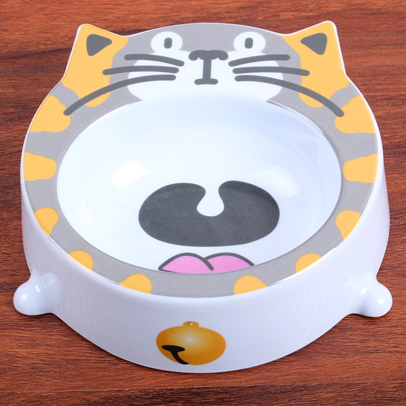 Fat cat pet bowl