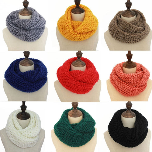 18 colors  winter scarf scarves knitted
