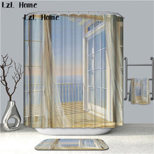 Load image into Gallery viewer, 3D Scenery Waterproof Shower Curtain