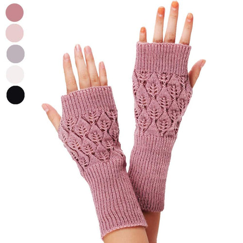 Exquisite Workmanship Refine Crochet Finger-less Gloves