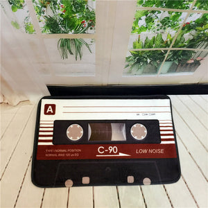 Vintage Magnetic Tape Mat Anti-Slip