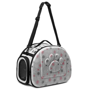 Foldable Pet Carrier Airline Approved Outdoor Travel Shoulder Bag