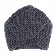 Load image into Gallery viewer, Knitted Turban Hats Cute Headband Head Wrap