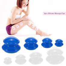 Load image into Gallery viewer, Better Health. 4Pcs  Anti Cellulite, Vacuum Cupping. Silicone Facial Body Massage Therapy Cups