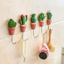 Load image into Gallery viewer, Magnetic Hooks Cactus Kitchen Wall Door