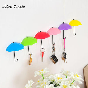 6Pcs Umbrella Wall Hook