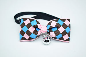 Cute Bow Tie Bell Pet Collars For Small Medium Cats/ Dog