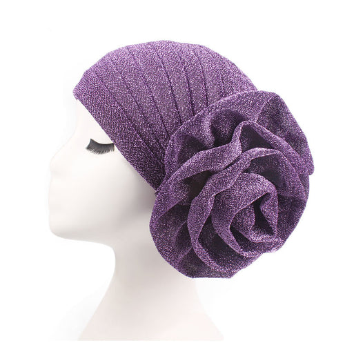 Women Big Flower hat