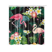 Load image into Gallery viewer, Hot Flamingo Shower Curtain