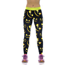 Load image into Gallery viewer, Jack Skellington/The Nightmare Before Christmas / Digital Print Fitness Leggins