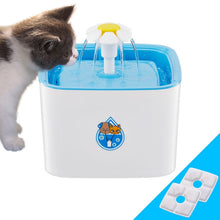 Load image into Gallery viewer, UK/US Plug 2.5L Electric Water Fountain Pet Drinker Bowl