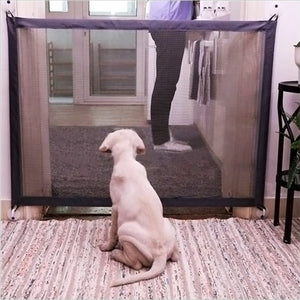 Mesh Magic Indoor Pet  Safety Enclosure Folding  Fence