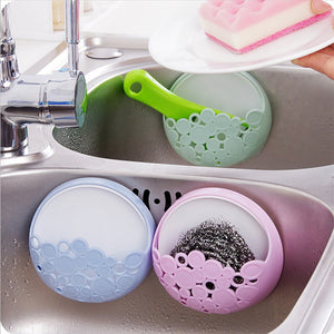 Wall Mount Holder Sucker Suction Organizer Cup Rack