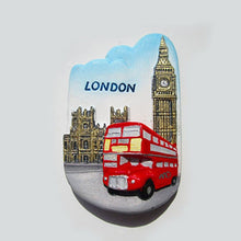 Load image into Gallery viewer, Resin 3D Fridge Magnet San Francisco London Paris Japan Greece Sydney Bali Souvenir