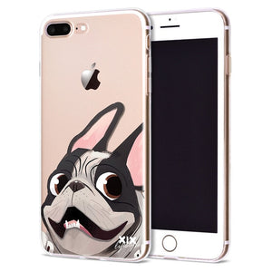 Cute Dogs for Cover iPhone X Case 5 5S 6 6S 7 8 Plus X XS Max XR