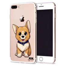 Load image into Gallery viewer, Cute Dogs for Cover iPhone X Case 5 5S 6 6S 7 8 Plus X XS Max XR