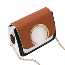 Load image into Gallery viewer, Patchwork crossbody shoulder bag