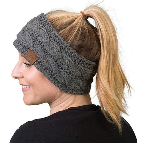 Knitted Crochet Twist Women Headband Winter Ear Warmer