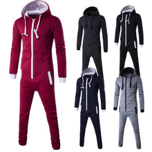 Load image into Gallery viewer, Unisex  Fashion Hooded Jumpsuit Onesie