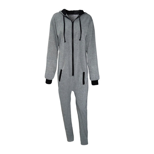 Unisex  Fashion Hooded Jumpsuit Onesie