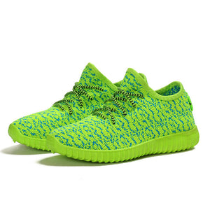 Weave Air Mesh Shoes Woman