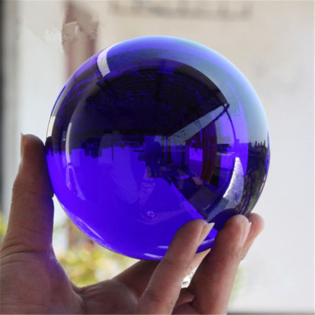 NEW Rare Natural Quartz Magic Gemstone Sphere Crystal Healing Ball
